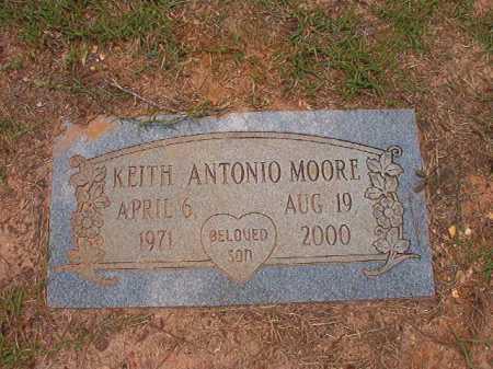 MOORE, KEITH ANTONIO - Columbia County, Arkansas   KEITH ANTONIO MOORE - Arkansas Gravestone Photos