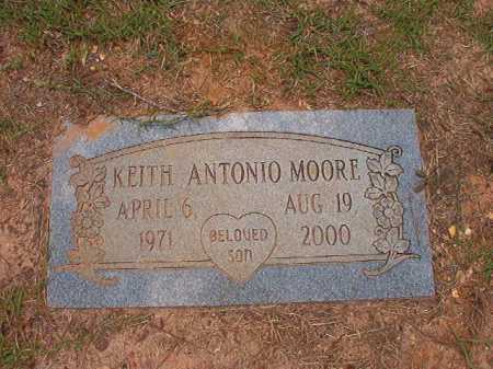 MOORE, KEITH ANTONIO - Columbia County, Arkansas | KEITH ANTONIO MOORE - Arkansas Gravestone Photos