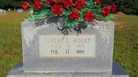 MOORE, LORENE L - Columbia County, Arkansas | LORENE L MOORE - Arkansas Gravestone Photos