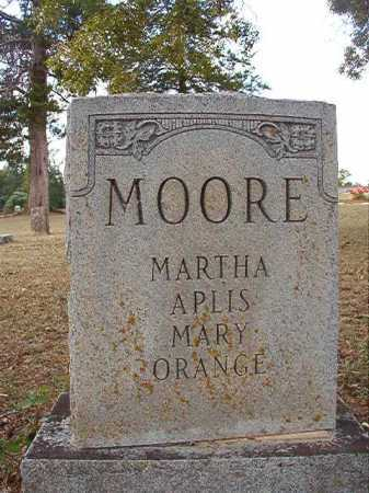MOORE, MARTHA APLIS MARY - Columbia County, Arkansas | MARTHA APLIS MARY MOORE - Arkansas Gravestone Photos