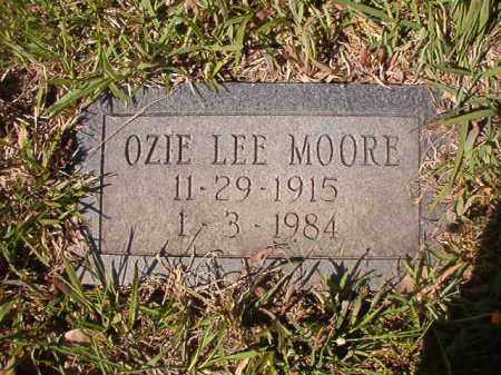 MOORE, OZIE LEE - Columbia County, Arkansas   OZIE LEE MOORE - Arkansas Gravestone Photos