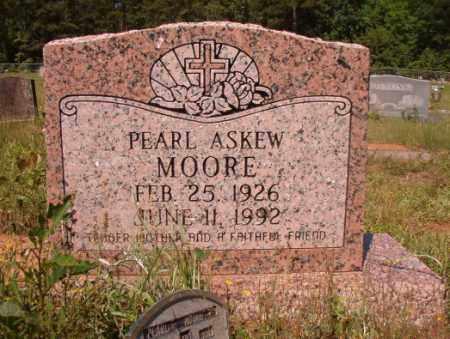 ASKEW MOORE, PEARL - Columbia County, Arkansas | PEARL ASKEW MOORE - Arkansas Gravestone Photos