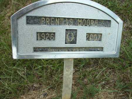 MOORE, PRENTIS - Columbia County, Arkansas | PRENTIS MOORE - Arkansas Gravestone Photos
