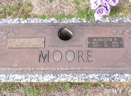 MOORE, MAXINE MARILYN - Columbia County, Arkansas | MAXINE MARILYN MOORE - Arkansas Gravestone Photos