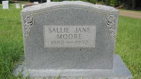 MOORE, SALLIE JANE - Columbia County, Arkansas   SALLIE JANE MOORE - Arkansas Gravestone Photos