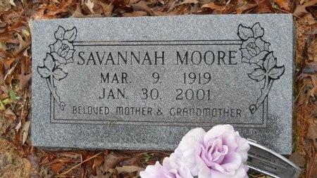 MOORE, SAVANNAH - Columbia County, Arkansas | SAVANNAH MOORE - Arkansas Gravestone Photos