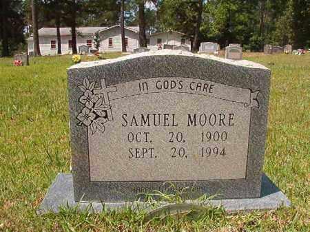 MOORE, SAMUEL - Columbia County, Arkansas | SAMUEL MOORE - Arkansas Gravestone Photos