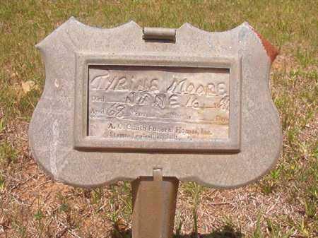 MOORE, TYRINE - Columbia County, Arkansas   TYRINE MOORE - Arkansas Gravestone Photos