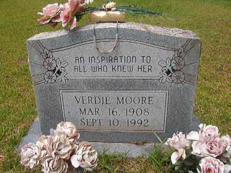 MOORE, VERDIE - Columbia County, Arkansas | VERDIE MOORE - Arkansas Gravestone Photos