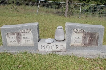 MOORE, IDA - Columbia County, Arkansas | IDA MOORE - Arkansas Gravestone Photos