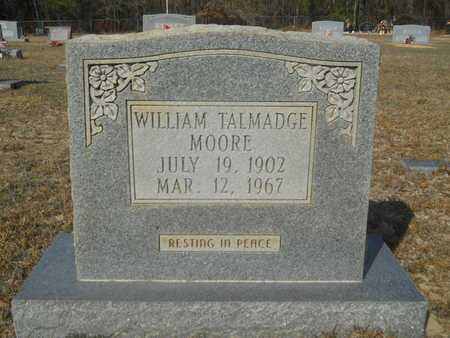 MOORE, WILLIAM TALMADGE - Columbia County, Arkansas | WILLIAM TALMADGE MOORE - Arkansas Gravestone Photos