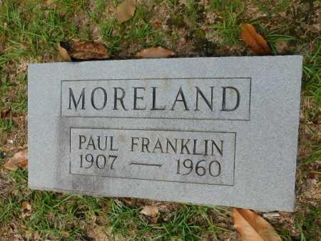 MORELAND, PAUL FRANKLIN - Columbia County, Arkansas | PAUL FRANKLIN MORELAND - Arkansas Gravestone Photos