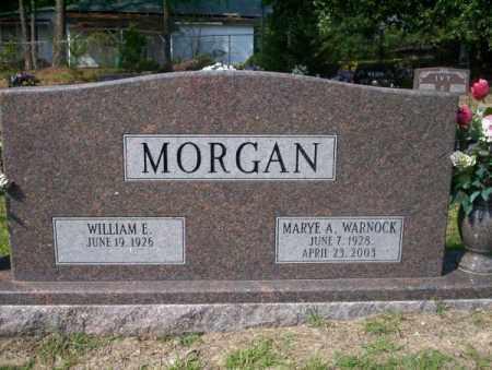 WARNOCK MORGAN, MARYE A - Columbia County, Arkansas | MARYE A WARNOCK MORGAN - Arkansas Gravestone Photos
