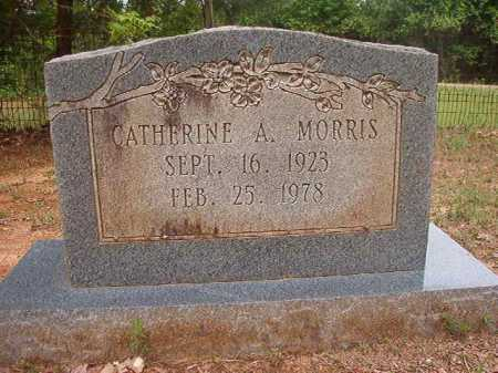 MORRIS, CATHERINE A - Columbia County, Arkansas | CATHERINE A MORRIS - Arkansas Gravestone Photos