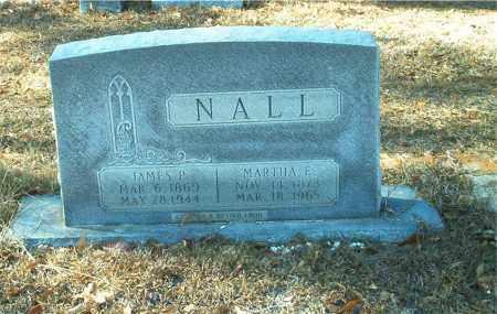 YOUNG NALL, MARTHA E. - Columbia County, Arkansas | MARTHA E. YOUNG NALL - Arkansas Gravestone Photos