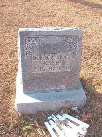 NASH, DEBROAH KAY - Columbia County, Arkansas | DEBROAH KAY NASH - Arkansas Gravestone Photos