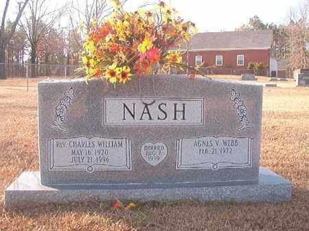 NASH, REV, CHARLES WILLIAM - Columbia County, Arkansas   CHARLES WILLIAM NASH, REV - Arkansas Gravestone Photos