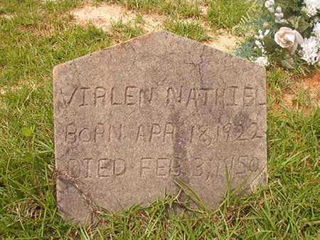 NATHIEL, VIALEN - Columbia County, Arkansas   VIALEN NATHIEL - Arkansas Gravestone Photos