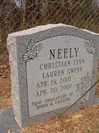 NEELY, CHRISTIAN LYNN - Columbia County, Arkansas | CHRISTIAN LYNN NEELY - Arkansas Gravestone Photos