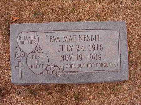 NESBIT, EVA MAE - Columbia County, Arkansas | EVA MAE NESBIT - Arkansas Gravestone Photos