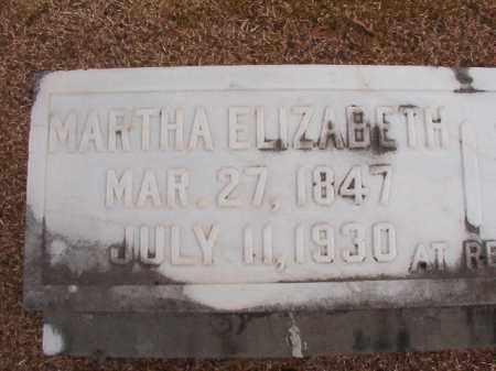 NESBIT, MARTHA ELIZABETH - Columbia County, Arkansas   MARTHA ELIZABETH NESBIT - Arkansas Gravestone Photos