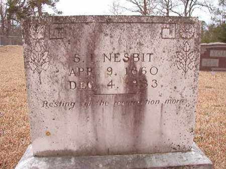 NESBIT, S I - Columbia County, Arkansas | S I NESBIT - Arkansas Gravestone Photos