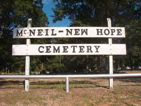 *NEW HOPE, CEMETERY - Columbia County, Arkansas | CEMETERY *NEW HOPE - Arkansas Gravestone Photos