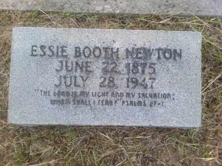 BOOTH NEWTON, ESSIE - Columbia County, Arkansas | ESSIE BOOTH NEWTON - Arkansas Gravestone Photos