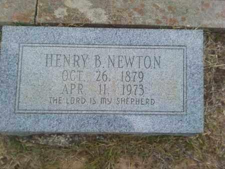 NEWTON, HENRY B - Columbia County, Arkansas | HENRY B NEWTON - Arkansas Gravestone Photos