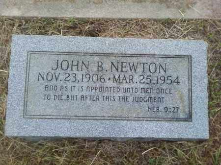 NEWTON, JOHN B - Columbia County, Arkansas | JOHN B NEWTON - Arkansas Gravestone Photos
