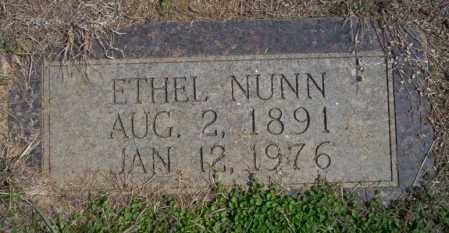 NUNN, ETHEL - Columbia County, Arkansas | ETHEL NUNN - Arkansas Gravestone Photos