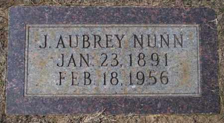 NUNN, J AUBREY - Columbia County, Arkansas   J AUBREY NUNN - Arkansas Gravestone Photos
