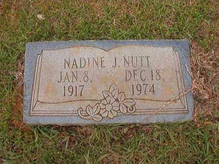NUTT, NADINE J - Columbia County, Arkansas | NADINE J NUTT - Arkansas Gravestone Photos