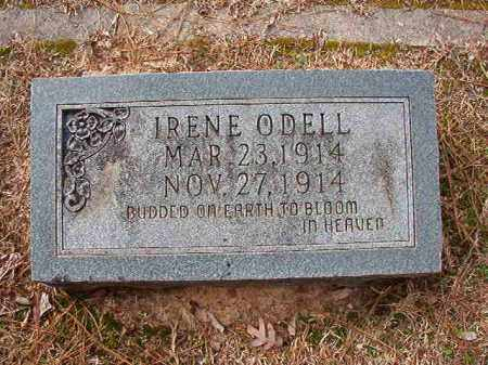 O'DELL, IRENE - Columbia County, Arkansas | IRENE O'DELL - Arkansas Gravestone Photos