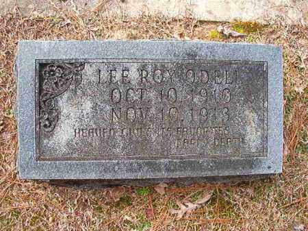 O'DELL, LEE ROY - Columbia County, Arkansas   LEE ROY O'DELL - Arkansas Gravestone Photos
