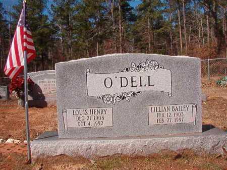 O'DELL, LILLIAN - Columbia County, Arkansas | LILLIAN O'DELL - Arkansas Gravestone Photos