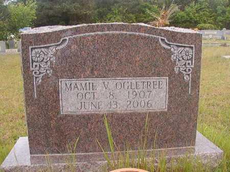 OGLETREE, MAMIE V - Columbia County, Arkansas | MAMIE V OGLETREE - Arkansas Gravestone Photos
