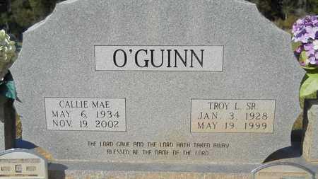 O'GUINN, CALLIE MAE - Columbia County, Arkansas | CALLIE MAE O'GUINN - Arkansas Gravestone Photos