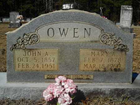 OWEN, MARY A - Columbia County, Arkansas | MARY A OWEN - Arkansas Gravestone Photos