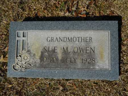 OWEN, SUE M - Columbia County, Arkansas | SUE M OWEN - Arkansas Gravestone Photos