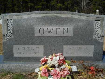 OWEN, SR., O CLYDE - Columbia County, Arkansas | O CLYDE OWEN, SR. - Arkansas Gravestone Photos