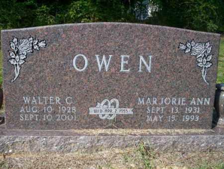 OWEN, WALTER C - Columbia County, Arkansas   WALTER C OWEN - Arkansas Gravestone Photos
