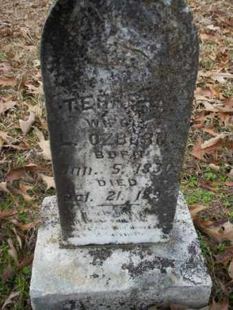 OZBORN, TERRE - Columbia County, Arkansas | TERRE OZBORN - Arkansas Gravestone Photos