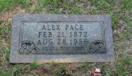 PACE, ALEX - Columbia County, Arkansas   ALEX PACE - Arkansas Gravestone Photos