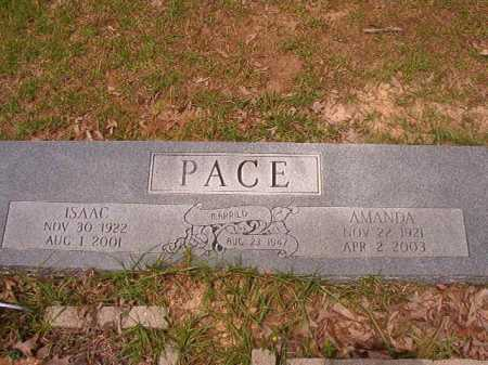 PACE, AMANDA - Columbia County, Arkansas | AMANDA PACE - Arkansas Gravestone Photos