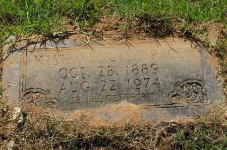 PACE, MISHA LOUISE - Columbia County, Arkansas   MISHA LOUISE PACE - Arkansas Gravestone Photos