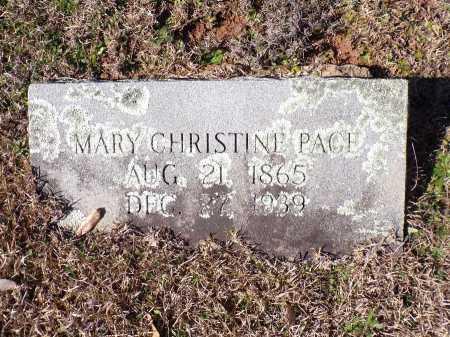 PACE, MARY - Columbia County, Arkansas | MARY PACE - Arkansas Gravestone Photos
