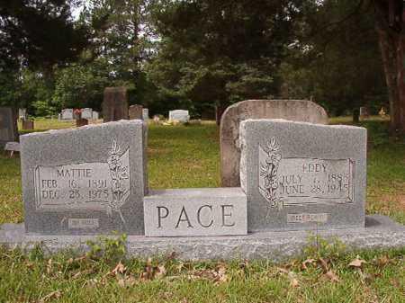 PACE, EDDY - Columbia County, Arkansas | EDDY PACE - Arkansas Gravestone Photos