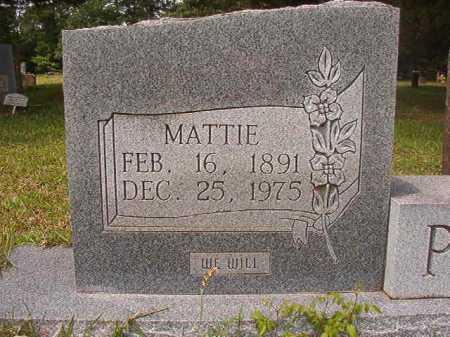 PACE, MATTIE - Columbia County, Arkansas   MATTIE PACE - Arkansas Gravestone Photos