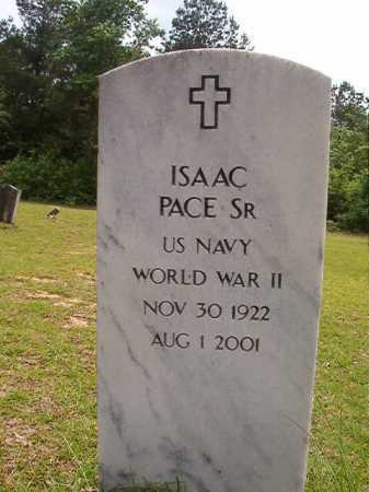 PACE, SR (VETERAN WWII), ISAAC - Columbia County, Arkansas | ISAAC PACE, SR (VETERAN WWII) - Arkansas Gravestone Photos